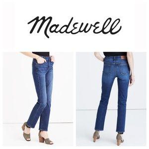 MADEWELL Cruiser Straight High Rise Skinny Jeans